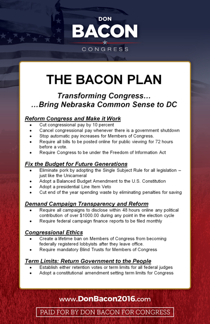 The Bacon Plan